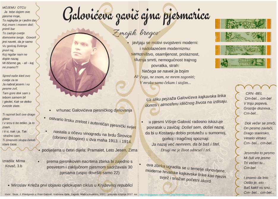 Mirna Kovač, 3. b