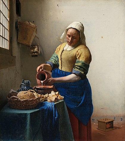 Mljekarica, Johannes Vermeer