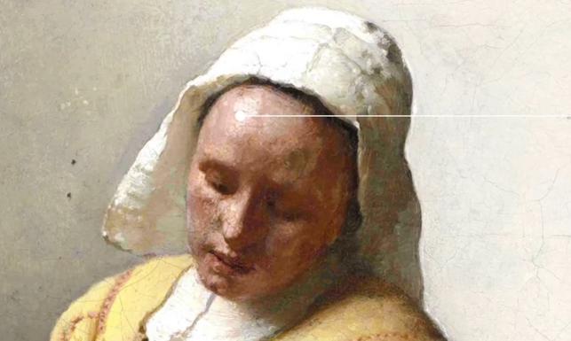 detaljan prikaz sluškinjine glave