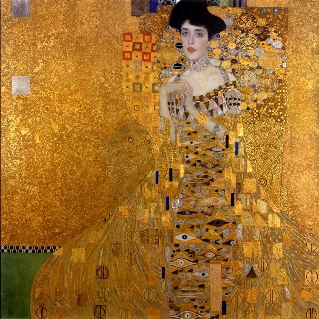 Zlatna Adele, Gustav Klimti